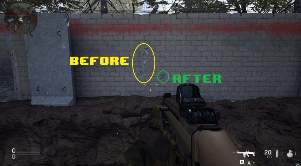 call of duty modern warfare no recoil macro comparison